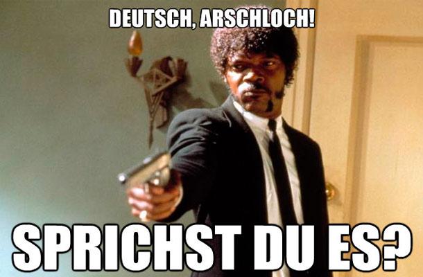 Has de tener cuidado al utilizar algunos de estos insultos del alemán