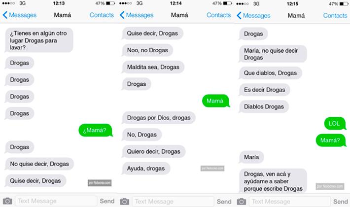 Ante el lenguaje SMS sólo nos quedan este tipo de conversaciones