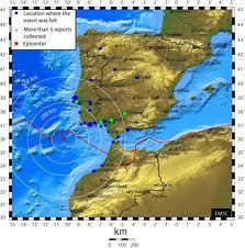 mapa terremoto Lisboa