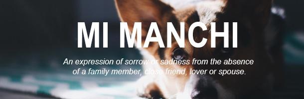 Mi manchi es de las palabras más bonitas del italiano según nosotros
