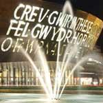 Millenium Centre. Centro del turismo rural de Cardiff