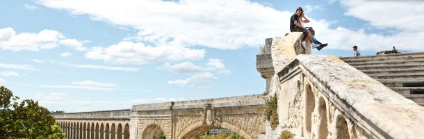 Dentro de los mejores destinos para las becas Erasmus Montpellier representa a Francia