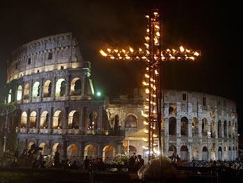 Via Crucis en Roma