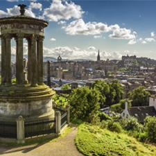 Uno de los motivos para elegir Escocia y aprender inglés es su cercanía