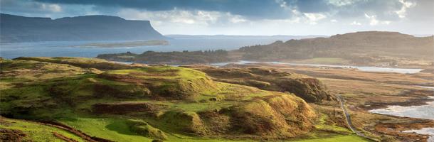 Si decides trabajar en Escocia podrás disfrutar además de paisajes como estos