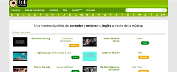 Subinglés de cara a aprender inglés con canciones puede serte de mucha utilidad