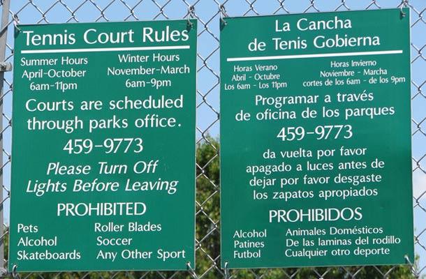 NO sabríamos cuál destacar de todos los fallos de traducción de este cartel