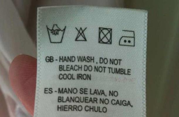 Ya no podrás lavar la ropa sin ver constantes fallos de traducción