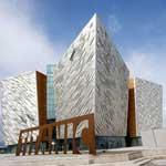 Titanic museum, en la ciudad de Belfast