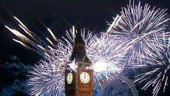 Año Nuevo en UK