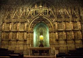 capilla del Santo Caliz