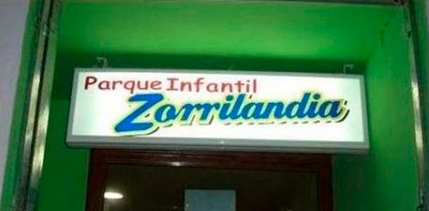 Con nombres de tienda graciosos a veces perdemos la fe en la humanidad